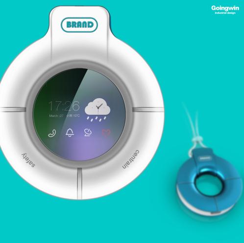 产品设计案例:子母机(儿童监护装置)